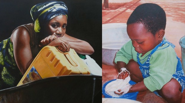 Jeremiah-Quarshie-artzonegh-Hyper-Realistic-Paintings